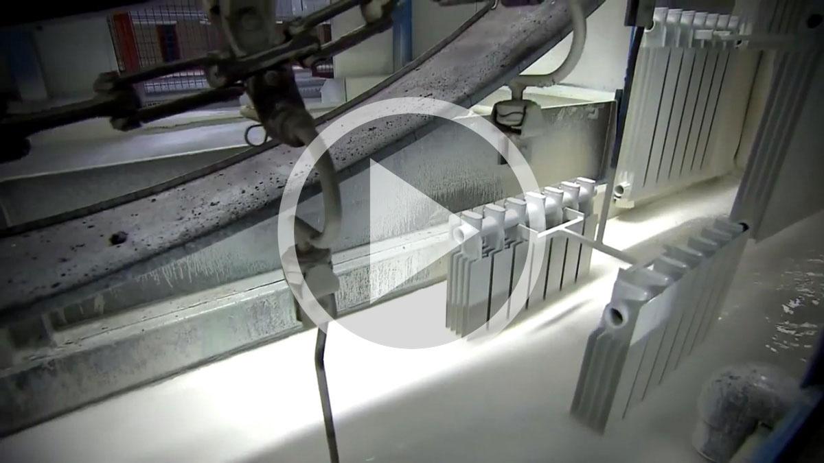 Производство радиаторов отопления Fondital