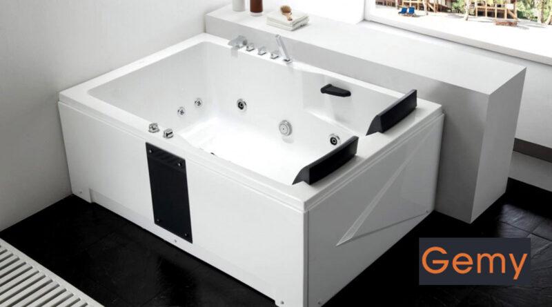 Новые гидромассажные ванны Gemy